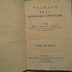Libros antiguos: TRATADO DE LA IGLESIA DE JESUCRISTO --TOMO I-DON FELIX AMAT-AÑO 1793. Lote 30301691