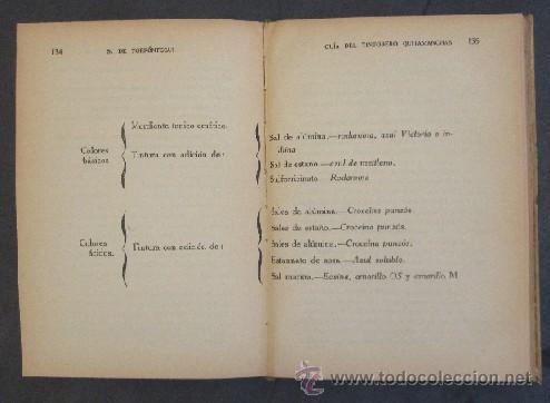 Libros antiguos: GUIA DEL TINTORERO QUITAMANCHAS - AÑO 1930 - Foto 5 - 27220284