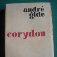 Libros antiguos: CORYDON. DE ANDRE GIDE. EDICIONES ORIENTE. MADRID 1929.. Lote 30378554