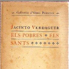 Libros antiguos: ELS POBRES, ELS SANTS. Lote 25478425