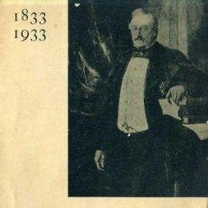 Libros antiguos: 1833 - 1933 CENTENARI DE LA RENAIXENÇA CATALANA . Lote 30420600