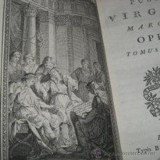 Old books - Obras de Publio Virgilio, 1767. 2 Tomos. Contiene 17 grabados - 50441308