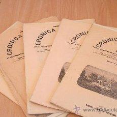 Libros antiguos: CRÓNICA GENERAL DE ESPAÑA. ILUSTRADA CON GRABADOS. PROVINCIA DE CÓRDOBA. 5 FASCÍCULOS. INCOMPLETA.. Lote 30804958