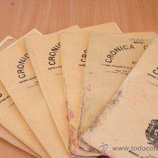 Libros antiguos: CRÓNICA GENERAL DE ESPAÑA. ILUSTRADA CON GRABADOS. PROVINCIA DE TOLEDO. 7 FASCÍCULOS. COMPLETA.. Lote 30836775