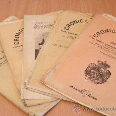 Libros antiguos: CRÓNICA GENERAL DE ESPAÑA. ILUSTRADA CON GRABADOS. PROVINCIA DE LEÓN. 6 FASCÍCULOS. COMPLETA.. Lote 30836934