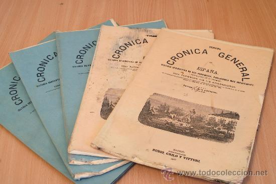CRÓNICA GENERAL DE ESPAÑA. ILUSTRADA CON GRABADOS. PROVINCIA DE TERUEL. 5 FASCÍCULOS. INCOMPLETA. (Libros Antiguos, Raros y Curiosos - Bellas artes, ocio y coleccionismo - Otros)