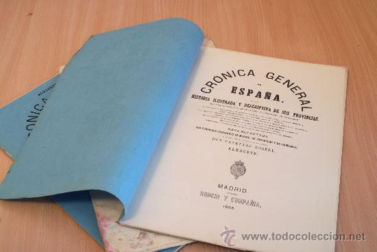 Libros antiguos: Crónica General de España. Ilustrada con grabados. Provincia de Albacete. 3 fascículos. Incompleta. - Foto 2 - 30804224