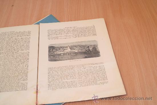 Libros antiguos: Crónica General de España. Ilustrada con grabados. Provincia de Albacete. 3 fascículos. Incompleta. - Foto 3 - 30804224