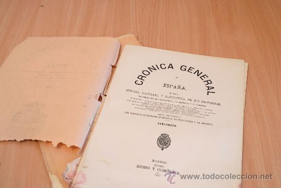 Libros antiguos: Crónica General de España. Ilustrada con grabados. Provincia de Santander. 2 fascículos. Incompleta - Foto 2 - 30805100