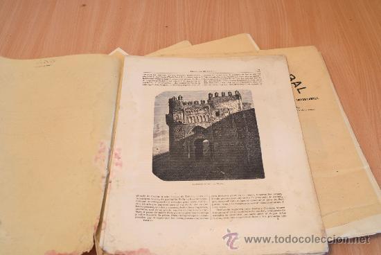 Libros antiguos: Crónica General de España. Ilustrada con grabados. Provincia de Toledo. 7 fascículos. Completa. - Foto 3 - 30836775