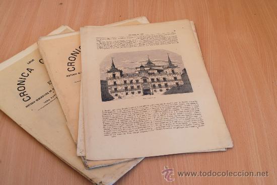 Libros antiguos: Crónica General de España. Ilustrada con grabados. Provincia de León. 6 fascículos. Completa. - Foto 3 - 30836934