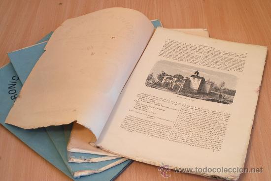 Libros antiguos: Crónica General de España. Ilustrada con grabados. Provincia de Teruel. 5 fascículos. Incompleta. - Foto 2 - 31222475