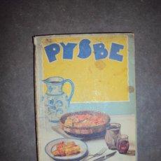 Recetas de Bacalao. PYSBE (Pesquerías y Secaderos de Bacalao de España). 1936.