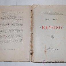 Libros antiguos: REPOSO RAFAEL ALTAMIRA PX25056. Lote 30603304