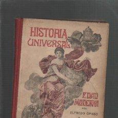 Alte Bücher - alfredo opisso historia universal en cuadros amenos e instructivos edad moderna y contemporanea 1917 - 30618585