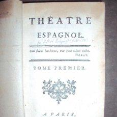 Libros antiguos: THEATRE ESPAGNOL. 4 TOMOS, 1770.. Lote 30626133