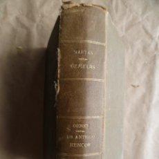 Libros antiguos: UN ANTIGUO RENCOR, MARYAN GEMELAS, 1921. Lote 30638315