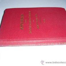 Libros antiguos: 1920 ANUARIO DE LA SOCIEDAD ECONOMICA BARCELONESA DE AMIGOS DEL PAIS. Lote 30652603