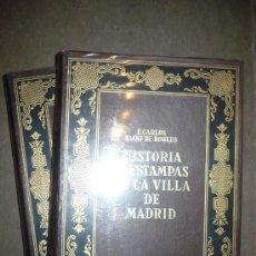 Libros antiguos: HISTORIAS Y ESTAMPAS DE LA VILLA DE MADRID. 2 TOMOS, 1ª EDICIÓN, 1933. F. CARLOS SAINZ DE ROBLES.. Lote 30678580