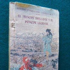 Libros antiguos: EL PRINCIPE BRILLANTE Y EL PRINCIPE LUCIENTE-LEYENDAS NARRACIONES JAPONESAS-1914-UNICO-RARISIMO.. Lote 30715842