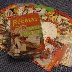 Libros antiguos: RECETAS DE TARTAS Y PASTELES . Lote 30753981