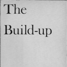 Libros antiguos: THE BUILD-UP DE WILLIAM CARLOS WILLIAMS. Lote 30757517