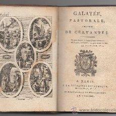 Libros antiguos: GALATÉE, PASTORALE, IMITÉE DE CERVANTES. JEAN-PIERRE CLARIS DE FLORIAN. (1803).. Lote 30807399