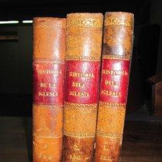 Libros antiguos: HISTORIA ECLESIASTICA DEL CARDENAL HERGENRÖTHER. MADRID. FINALES S. XIX. Lote 30823031