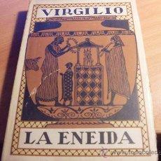 Libros antiguos: VIRGILIO ( LA ENEIDA ) ED. PROMETEO VALENCIA (LE3). Lote 30839306