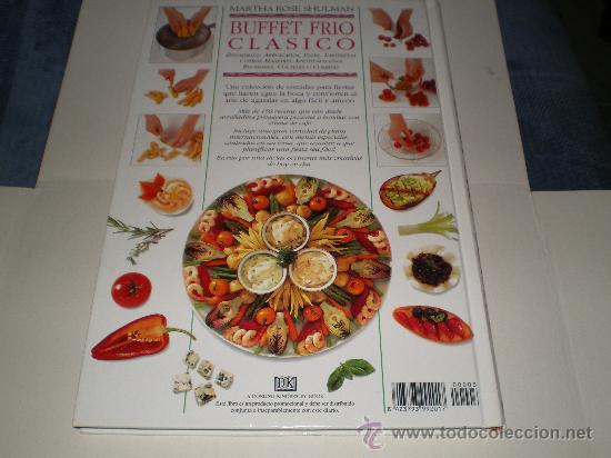 Libros antiguos: Buffet Frio Clasico,Martha Rose Shulman - Foto 2 - 33977271