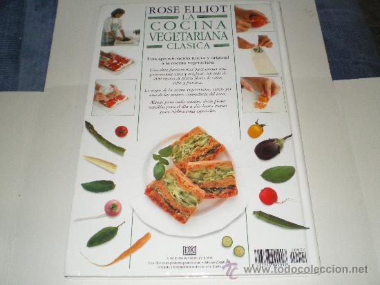 Libros antiguos: La Cocina Vegetariana Clasica,Rose Elliot - Foto 2 - 33977280