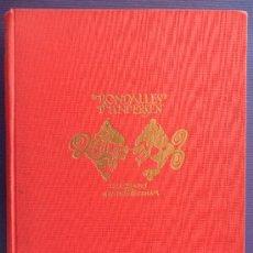 Libros antiguos: LIBRO RONDALLES D'ANDERSEN PRIMERA EDICION 1933 EDITORIAL JOVENTUT CATALAN DIFICIL VER FOTOS. Lote 30878415