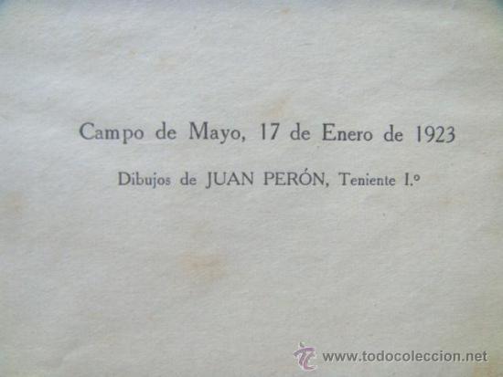 Libros antiguos: [PERON Juan Domingo] EJERCICIOS CORPORALES. 1923. Ilustrado por Perón. Inhallable - Foto 3 - 30915525