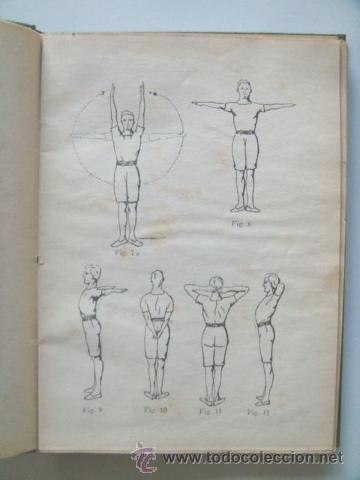 Libros antiguos: [PERON Juan Domingo] EJERCICIOS CORPORALES. 1923. Ilustrado por Perón. Inhallable - Foto 4 - 30915525
