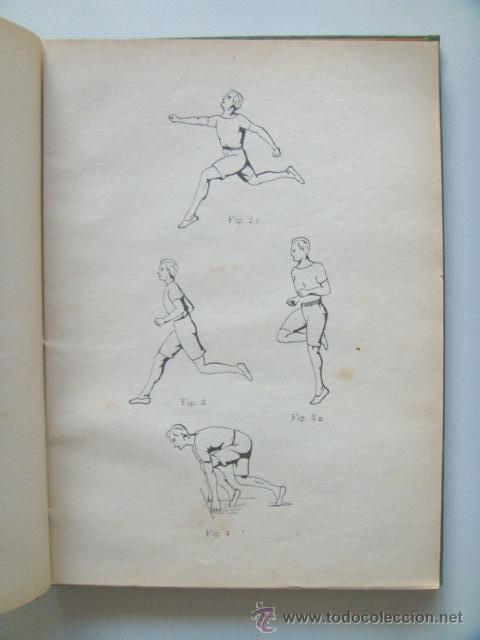 Libros antiguos: [PERON Juan Domingo] EJERCICIOS CORPORALES. 1923. Ilustrado por Perón. Inhallable - Foto 5 - 30915525