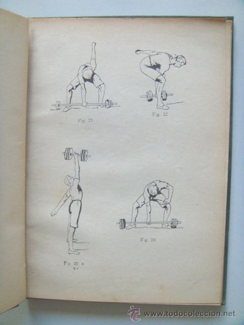 Libros antiguos: [PERON Juan Domingo] EJERCICIOS CORPORALES. 1923. Ilustrado por Perón. Inhallable - Foto 6 - 30915525