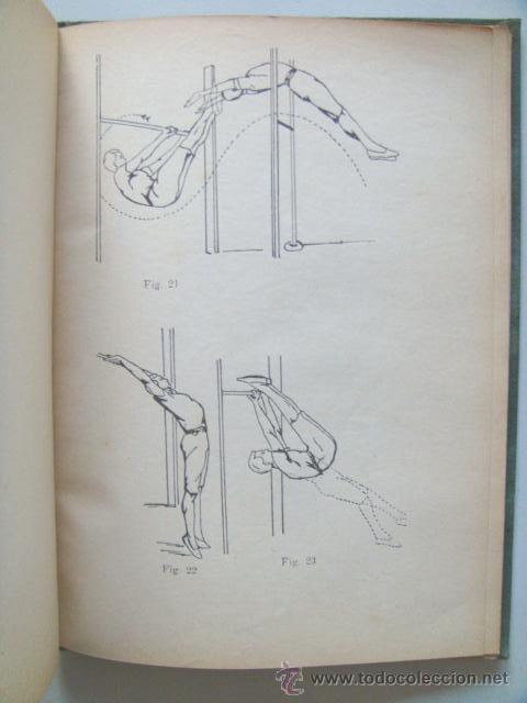 Libros antiguos: [PERON Juan Domingo] EJERCICIOS CORPORALES. 1923. Ilustrado por Perón. Inhallable - Foto 7 - 30915525