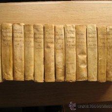 Libros antiguos: DICCIONARIO APOSTÓLICO JACINTO MONTARGÓN . 1787. 15 VOLÚMENES. Lote 27377971