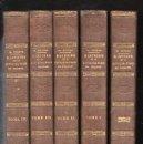 Libros antiguos: HISTOIRE DE LA CIVILISATION EN FRANCE, M. GUIZOT, 5 TOMOS, PARIS, DIDIER, 1840. Lote 30967884