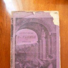 Libros antiguos: LAS DOS HIJAS DE MR. PLIGHON, POR ANDRÉS LÉO, 318 PAG.. Lote 30977817