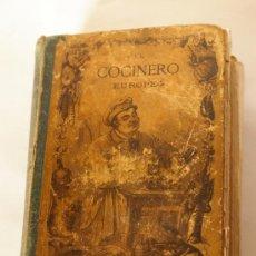 Libros antiguos: EL COCINERO EUROPEO - JULIO BRETEUIL 1880 - 1ª EDICIÓN !!!! MUY RARA / COCINA. Lote 31045748