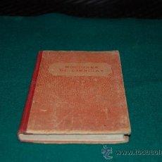 Libros antiguos: NOCIONES DE CIENCIAS. Lote 31080318