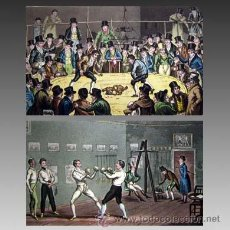 Libros antiguos: 1823 UNICO DIORAMA ANGLAIS PASEOS PINTORESCOS POR LONDRES 24 LAMINAS ILUMINADAS. Lote 31084771