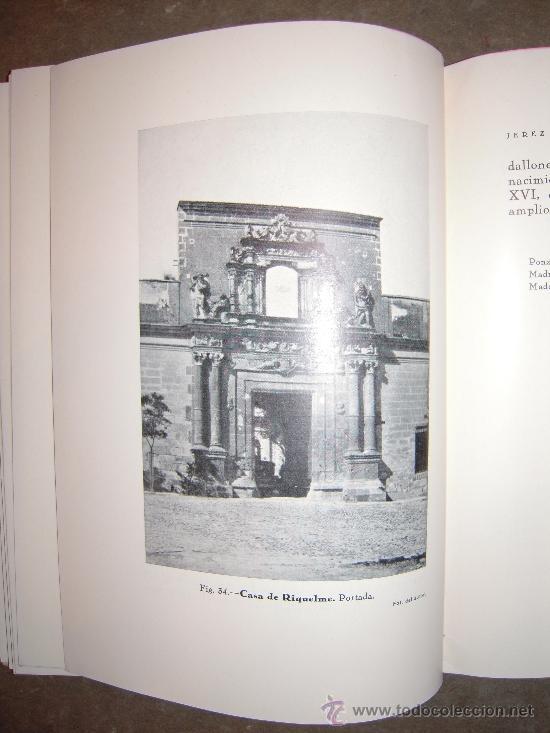 Libros antiguos: Jerez de la Frontera (Guia Oficial de Arte). 1933. Manuel Esteve Guerrero. - Foto 5 - 31093169