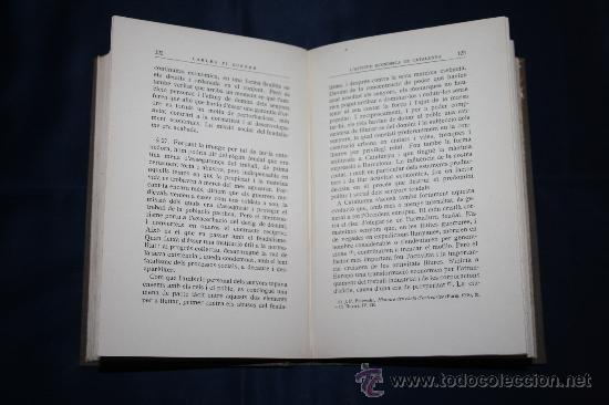 Libros antiguos: 0433- 'L'APTITUD ECONOMICA DE CATALUNYA' 2 VOL. COMPLETA - PER CARLES PI SUNYER - ED. BARCINO 1927 - Foto 6 - 31096106