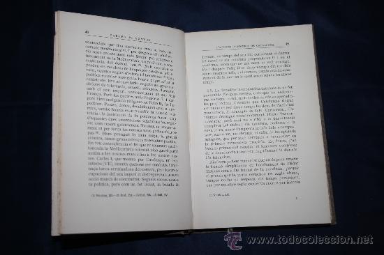 Libros antiguos: 0433- 'L'APTITUD ECONOMICA DE CATALUNYA' 2 VOL. COMPLETA - PER CARLES PI SUNYER - ED. BARCINO 1927 - Foto 7 - 31096106