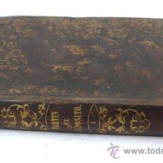 Libros antiguos: MARTÍN EL EXPÓSITO, MEMORIAS DE UN AYUDA DE CÁMARA, BARCELONA 1846. TOMO 1. 11X15 CM.. Lote 31277506