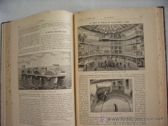 Libros antiguos: LA NATURE - REVUE DE SCIENCES - 1896 - PREMIER SEMESTRE - ENVÍO GRATIS - Foto 7 - 31221639