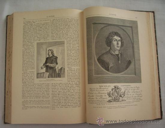 Libros antiguos: LA NATURE - REVUE DE SCIENCES - 1896 - PREMIER SEMESTRE - ENVÍO GRATIS - Foto 8 - 31221639