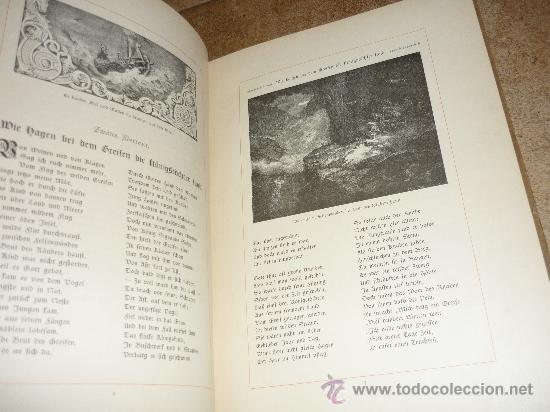 Libros antiguos: DAS GUDRUN LIED DAS DEUTFCHE HAUS VON Emil Engelmann STUTTGART 1886 - Foto 6 - 31224362